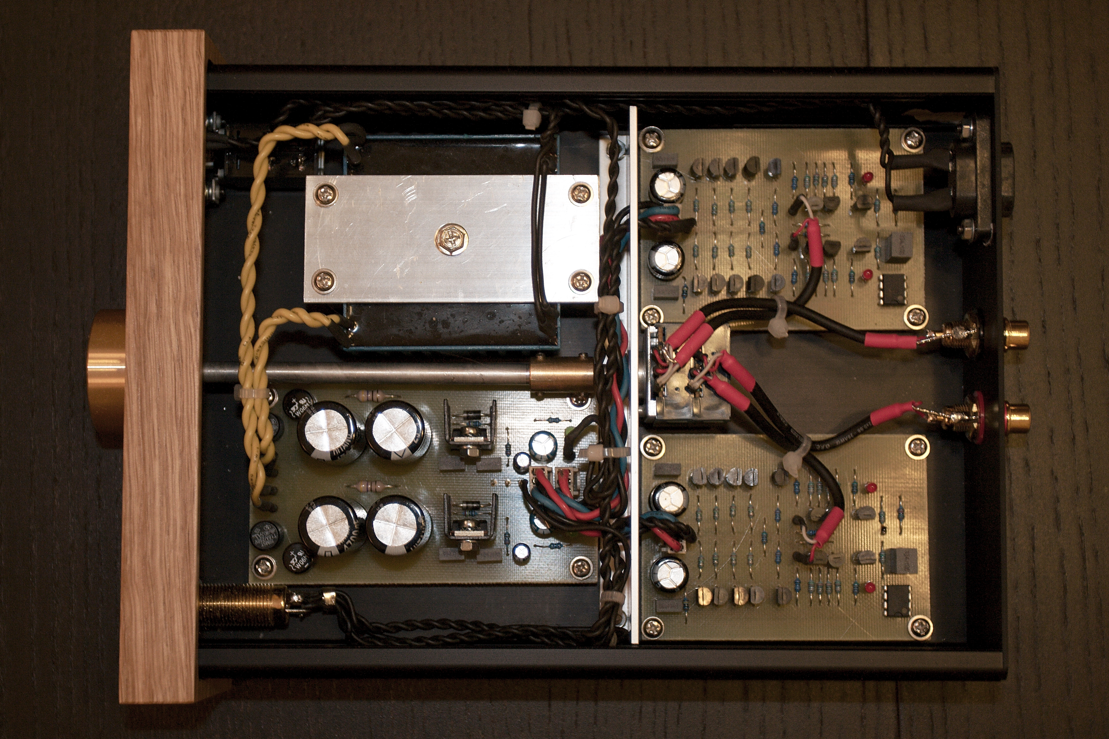 Class A Headphone Amplifier By Kevin Gilmore Head Phone Circuit Electronic Circuits And Diagram Opened Foto Martin Saidl
