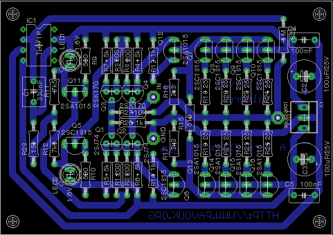 Pure Class A Dynamic Brd on headphone amp schematic