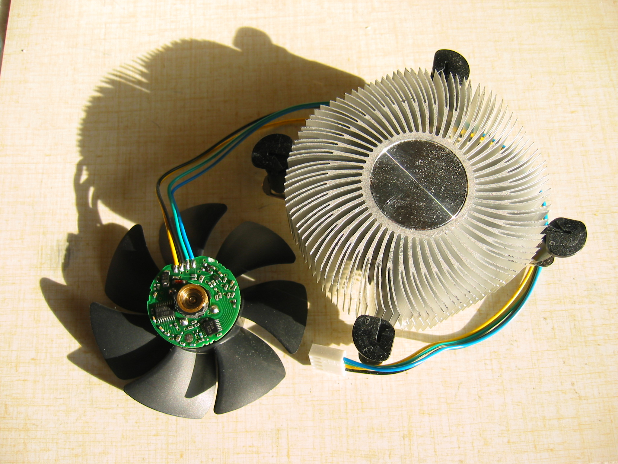 4 Wire Fans Exhaust Fan Wiring Diagram 3 Wires With Heatsink Photo3 Nidec