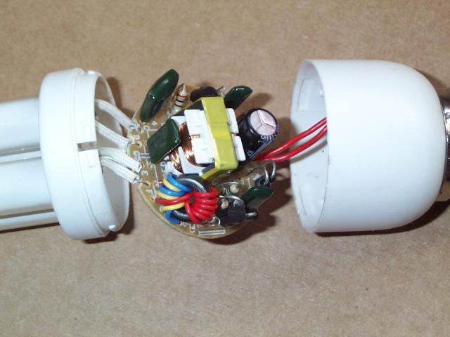 تصویر 25 - لامپ کم مصرف لامپ مهتابی فشرده ساختمان لامپ کم مصرف مدار داخلی لامپ کم مصرف مدار الکترونیکی لامپ کم مصرف مدار لامپ کم مصرف عملکرد لامپ کم مصرف مکانیزم لامپ