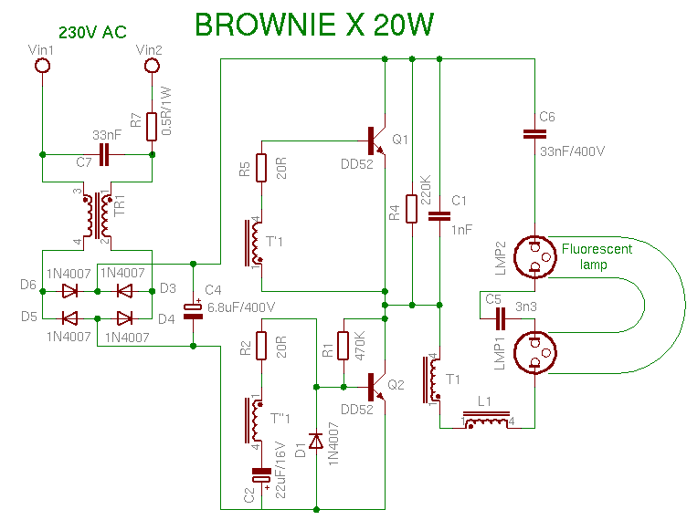 browniex20w compact fluorescent lamp wiring diagram for compact fluorescent ballast at readyjetset.co