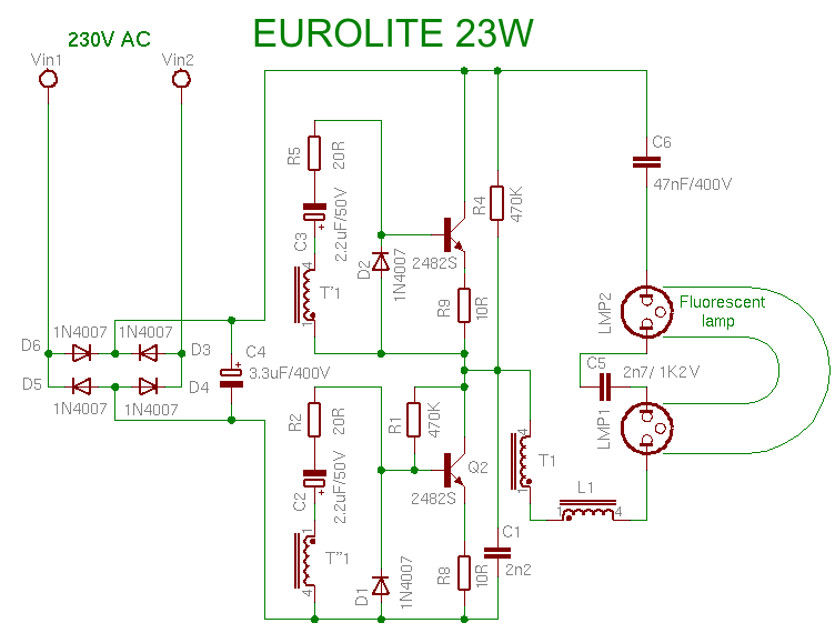 eurolite23w compact fluorescent lamp uv light wiring diagram at alyssarenee.co