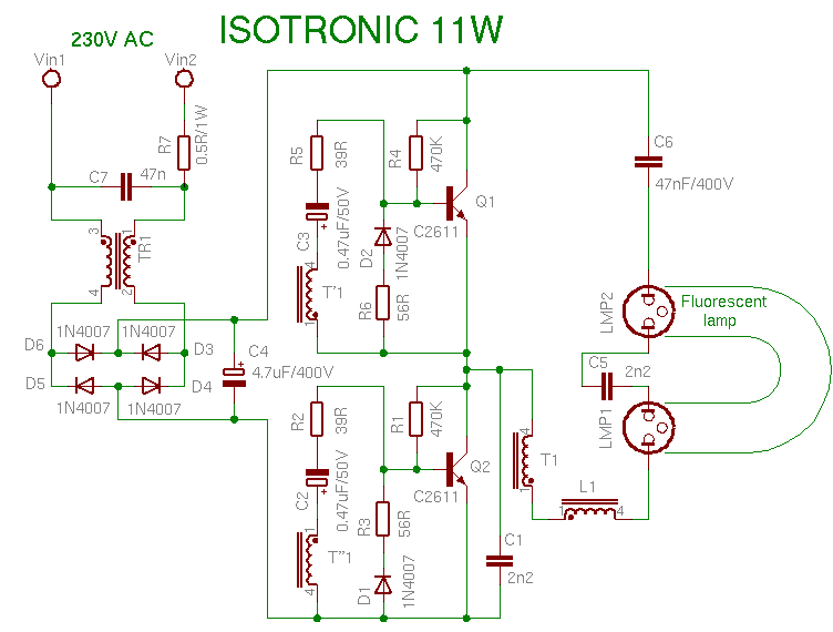 compact fluorescent lamp rh pavouk org cfl circuit diagram and working cfl circuit diagram and working