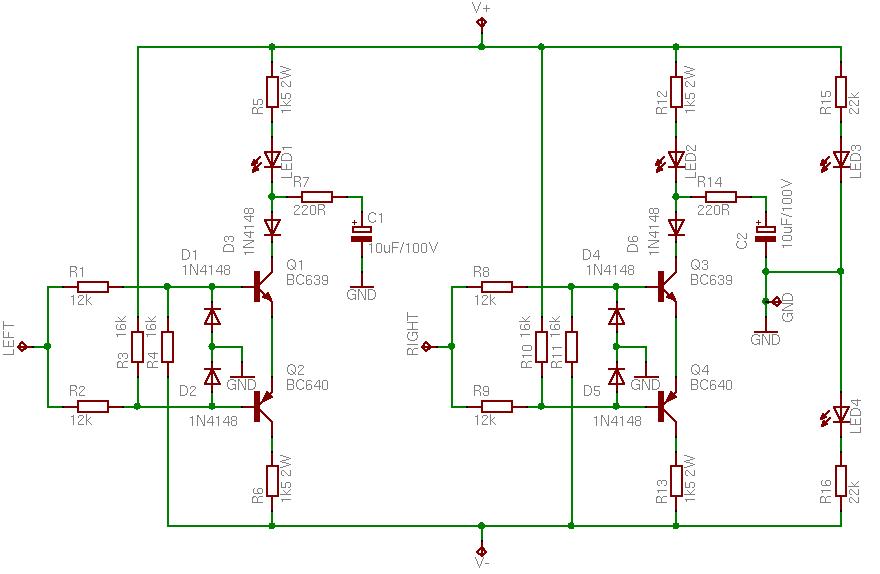 Mini Audio Amplifier Circuit Diagram   The Leach Amp 200w Amplifier