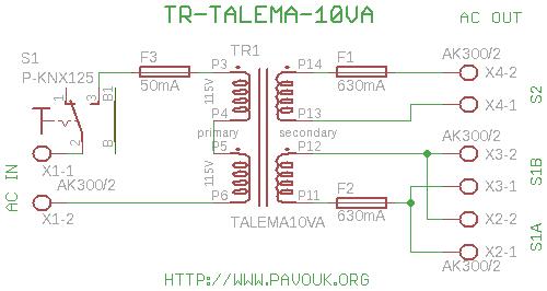 talema va transformer board schematics diagram