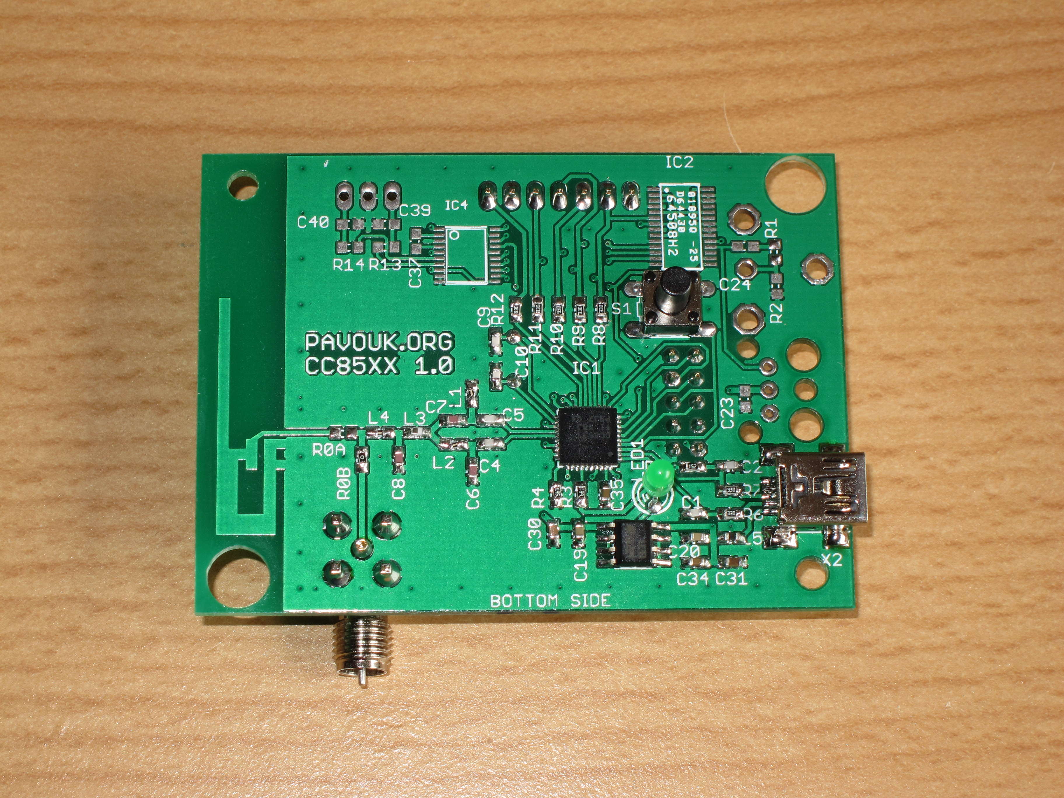 Wireless Digital Audio Circuit S1 Is Working But No Sound Came Out When The Signal To From A Bottom Minimal Version