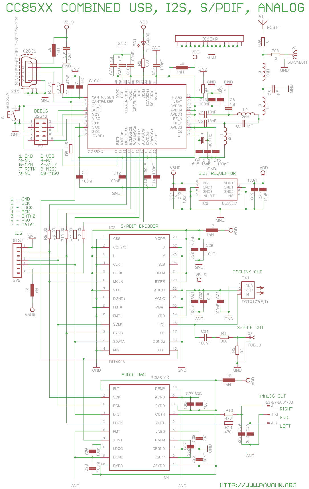 Wireless Digital Audio F Type Pcb Balun Circuit Diagram Schematics