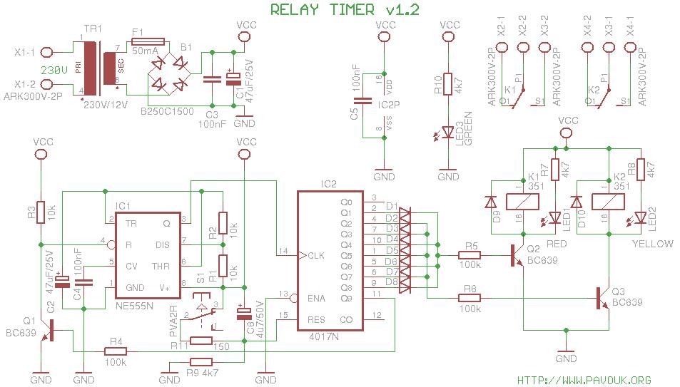 Relay Schematic Diagram Schematics Diagram