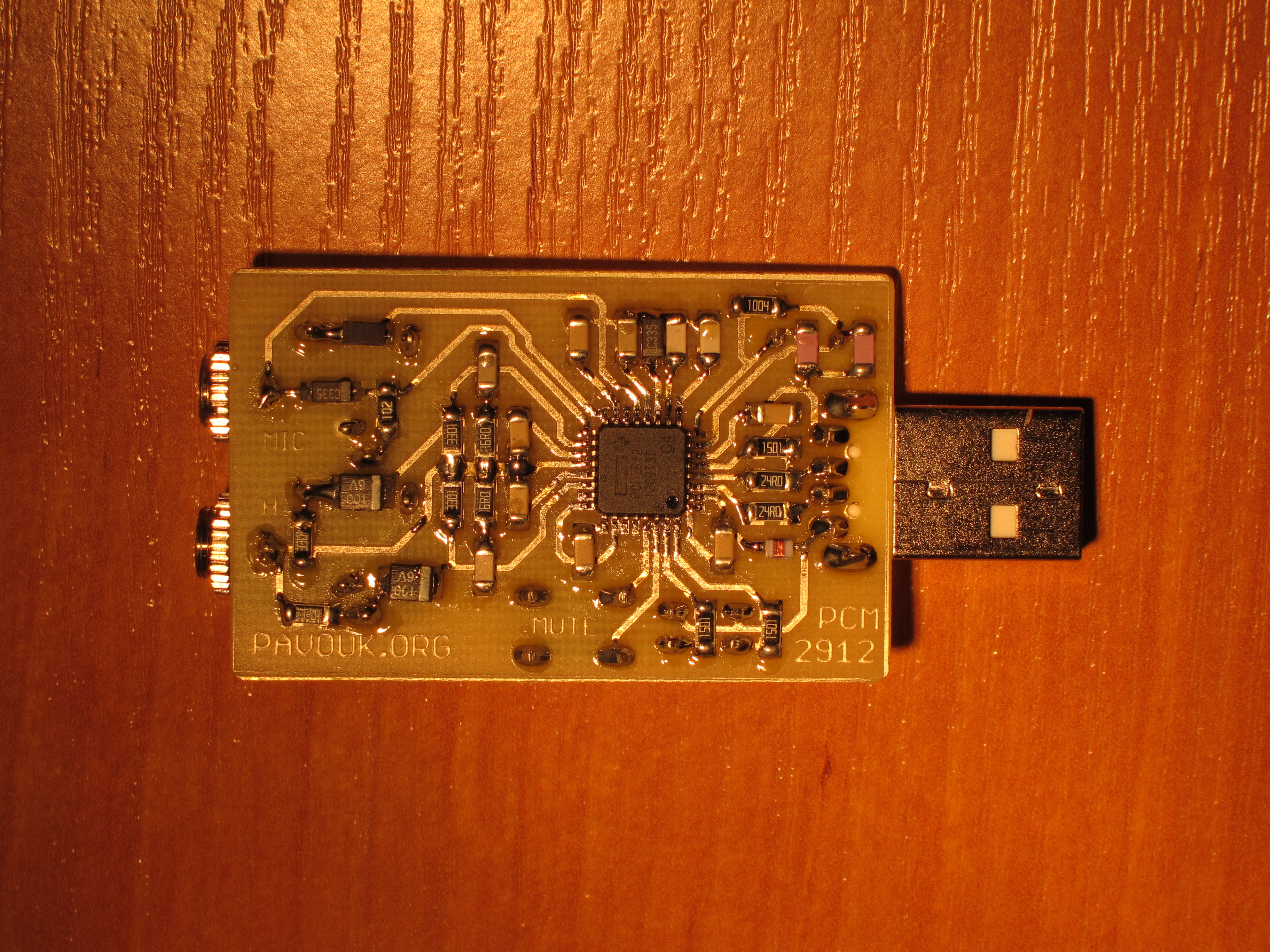 Usb Audio Dongle With Pcm2912 Amplifier Circuit Board Electronic Design
